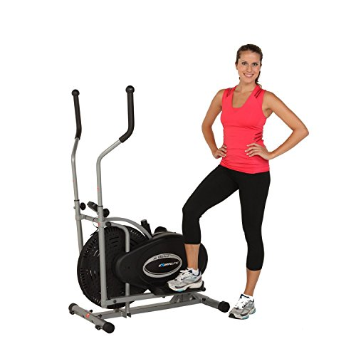 Amazon.com : Exerpeutic Aero Air Elliptical with Equipment Mat : Sports & Outdoors