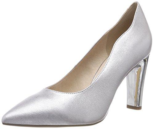 22402 Pumps argento Silver 920 Caprice donna da metallo SzdExwq