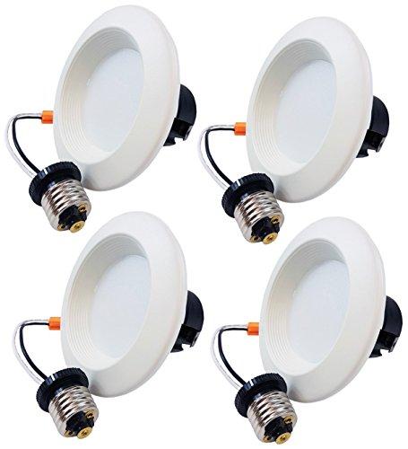 Hongville HV-LED-DL4-6K LED Gimbal Downlight Trim, Energy...