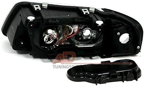 Rechte Seite KG 960628 Scheinwerfer H1//H7 Beifahrerseite AD Tuning GmbH /& Co
