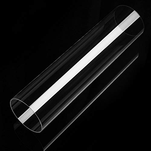 OKIl Clear Acryclic Lucite Tube Pipe Round Acryclic Tube 30cm Length ()