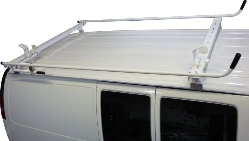 Aluminum Van Ladder Rack - Ford Econoline - Single Lock Down by True Racks (Image #3)