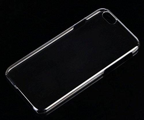 Per Apple iPhone 6 4.7 cassa dura del PC posteriore trasparente della