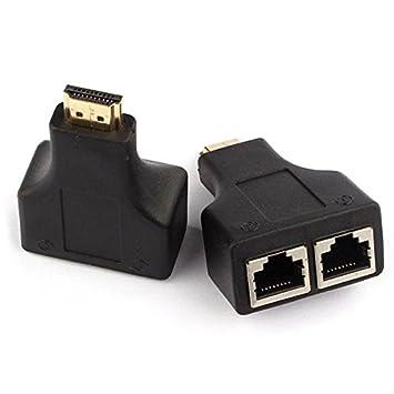 HDMI Turno RJ45 amplificadores: Amazon.es: Electrónica