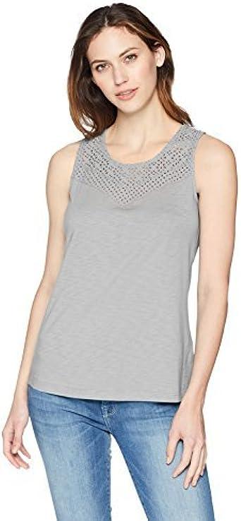 Aventura Mujer M80021 Sin Mangas Camisa: Amazon.es: Ropa y accesorios