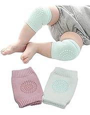 Rodilleras Para Bebé de Protección Para Aprender a Gatear, Antiderrapantes Para Niño y Niña, Bebés, Cubre Rodillas o Codos Paquete Con 2