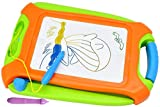 Vivify Magnetic Drawing Board, Green Erasable Colorful Doodle Drawing Board, Travel Size,A Toys for Writing Painting and Learning