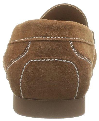 Trenton Sebago Cognac Loafers Brown Men's Penny Suede Hdqr4fwdx