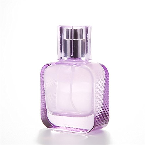 Botellas separadas de viaje 1 UNID Botella Cuadrada de Viaje Belleza Vidrio Transparente Botella de Dispensador de Perfume de Vapor Vacío Botella de Tamaño ...