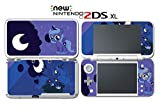 My Little Pony Princess Luna Nightmare Moon Video Game Vinyl Decal Skin Sticker Cover for Nintendo New 2DS XL System Console