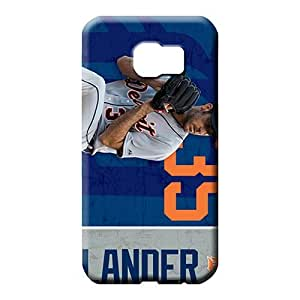 samsung galaxy S7 edge cases Durable Protective mobile phone carrying skins detroit tigers mlb baseball