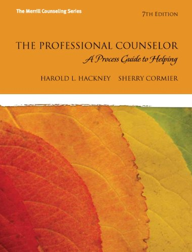 The Professional Counselor: A Process Guide to Helping (7th Edition)