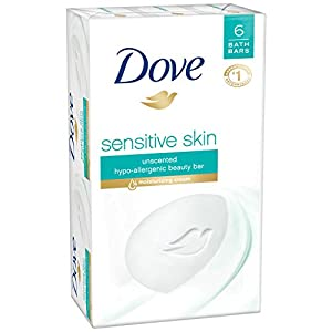 Dove Beauty Bar, Sensitive Skin 4 oz, 6 bar