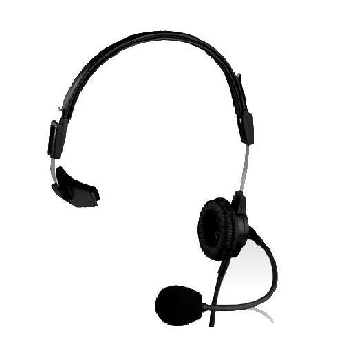 Telex PH-88R Lightweight Single Sided Headset for RTS, 150Hz-4kHz Frequency Range - Electro Voice Headphones