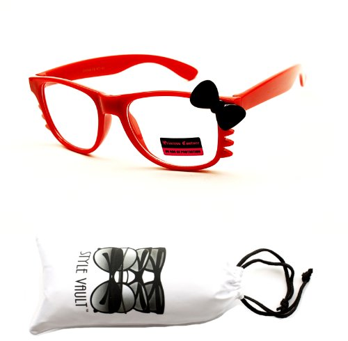 kd56-vp-kids-girls-kitty-cateye-wayfarer-clear-lens-sunglasses-eyeglasses-red-black-clear