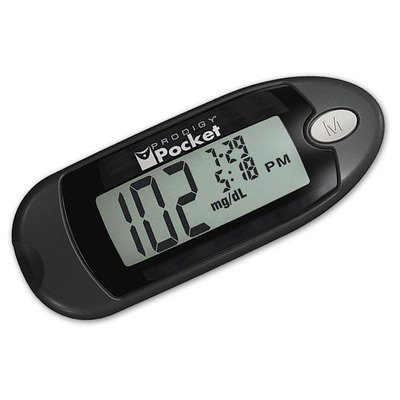 prodigy glucose meter instructions