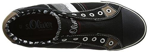 Herren 14603 Sneaker s Black Oliver Schwarz 5Y6ZqTxw