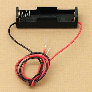 SEOH Battery Holder AA With 12in Wire Leads for Physics