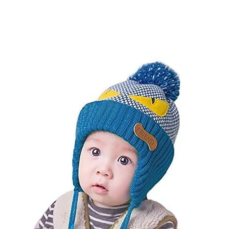 Buy Generic blue   hats and caps children Baby Hats Baby Hats hat winter  autumn newborn baby photography props baby bonnet bonnet enfant snapback  Online at ... 8d259370c3f