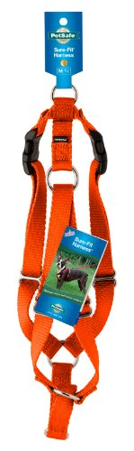 PetSafe Surefit Dog Harness, 1/2″ X-Small, Blaze Orange, My Pet Supplies