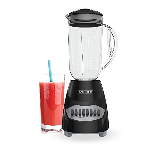 BLACK+DECKER Counter Top Blender, Black, BL2010BPA