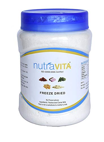 Nutra Vita Freeze Dried Camel Milk Powder 500 G (Natural, Gluten Free, No Added Color,Flavours Or Preservatives) by Nutra Vita (Image #1)