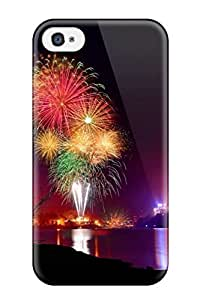 Dixie Delling Meier's Shop 7609927K82285737 Awesome Case Cover/iphone 4/4s Defender Case Cover(fireworks)