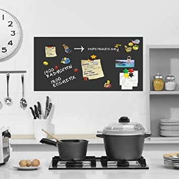 Tafelfolie Küche amazon de magnetfolie memoboard selbstklebend küche