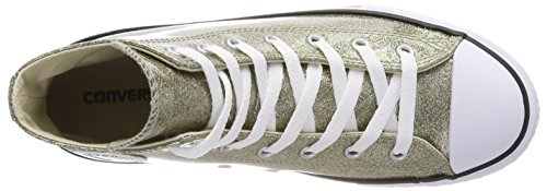 Ctas Scarpe Chuck Unisex gold Taylor natural Hi Oro – Converse white Bambini 710 Fitness Synthetic Da wE4qS