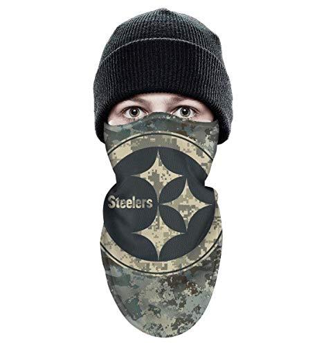 RHARAD Half Balaclava Fleece Winter Warm Camouflage Camo Winter Ski Mask Balaclava for Mens Womens