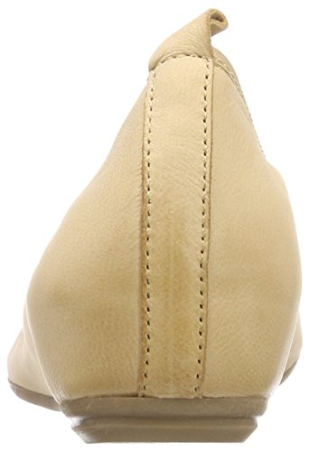Caprice Women's 22121 Closed Toe Ballet Flats Beige (Sand Nubuc 316) clearance under $60 WgSDmWM