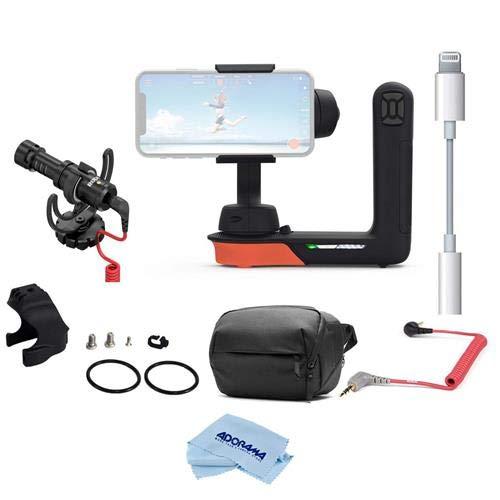 Freefly Filmmaker Kit 映画シネマ ロボット スタビライザー iPhones & スマートフォン用 自由な映画パーカ アクセサリーマウント ロードオンカメラマイク 3.5mm TRSからTRRSパッチケーブルなどに   B07M66K8Y9