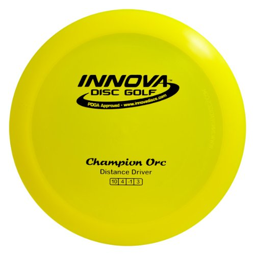 Innova Disc Golf Champion Material Orc Golf Disc, 165-169gm (Colors may - Golf Disc Orc
