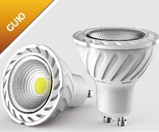 Super 8 Watt [Greenline®] LED Spot Strahler GU10 230V warmweiss EEK:A+: UO61
