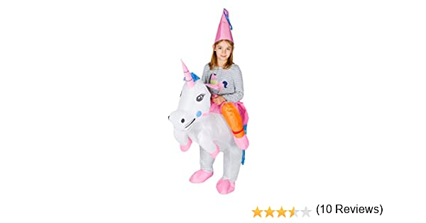 Bodysocks® Disfraz Hinchable de Unicornio Niño: Amazon.es ...