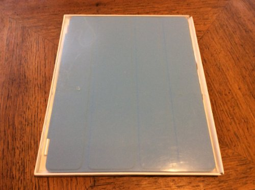 Apple iPad 2 Polyurethane Smart Cover - Light Blue