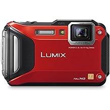 Panasonic DMC-TS6R LUMIX WiFi Enabled Tough Adventure Camera (Red)