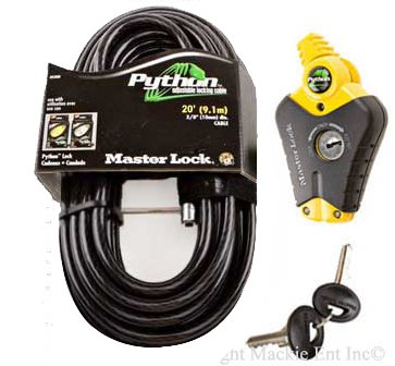 Master Lock Python Adjustable 8413 20