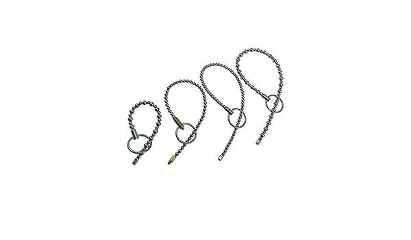 Amazon.com: 4 tamaño para elegir Acero inoxidable Enchufe del pene Granos masculinos Sonido uretral Catéter clítoris masajeador dilatador estimulador Nuevo ...