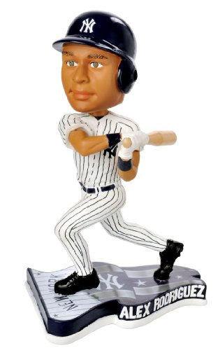 ALEX RODRIGUEZ Pennant Base BobbleHead Home New York Yankees