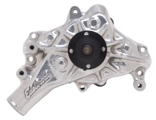 - Edelbrock 8821 Polished Long Style Victor Series Mechanical Water Pump