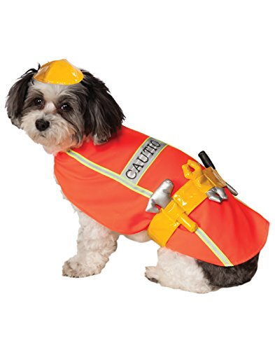 Rubie's Construction Worker Pet Costume, X-Large -