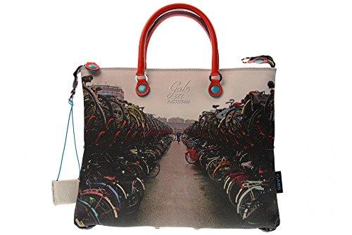 GABS donna borse a mano G3 STUDIO PRINT G000030T2 X 0086 S0322 BICI Bici