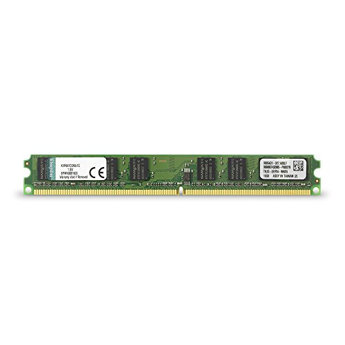 Kingston ValueRAM 1GB 667MHz DDR2 Non-ECC CL5 DIMM Desktop Memory ()