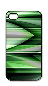 NBcase Green Pattern hard PC iphone 4 case for teen girls hipster