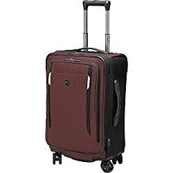 Werks Traveler 5.0 WT 20 Dual-Caster Spinner Carry On Suitcase (One Size, Rust Orange)