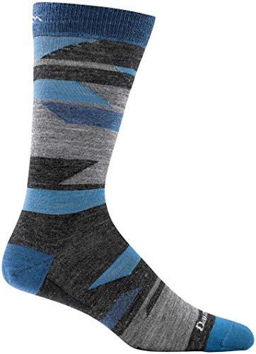 Darn Tough Fields Crew Light Sock - Men's Charcoal Large
