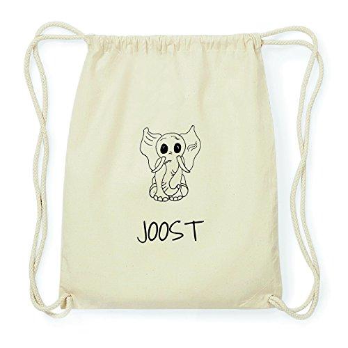 JOllipets JOOST Hipster Turnbeutel Tasche Rucksack aus Baumwolle Design: Elefant UDXkQUTs