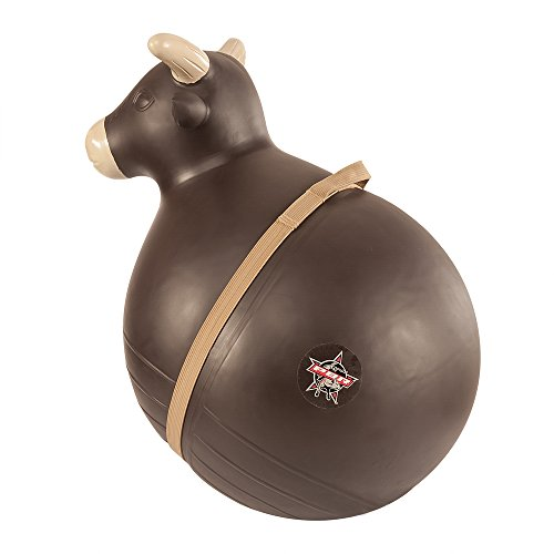 Pbr Bull - Big Country Toys PBR Bouncy Bull - Kids Hopper Toys - Inflatable Riding Ball with Handle - Bucking Bull Hopper Toy