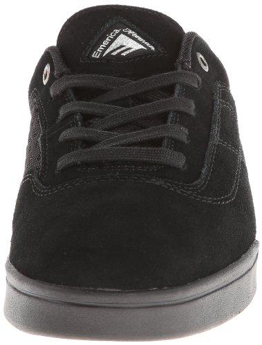 Emerica G6 6102000078 - Zapatillas de cuero para hombre negro - black/teal